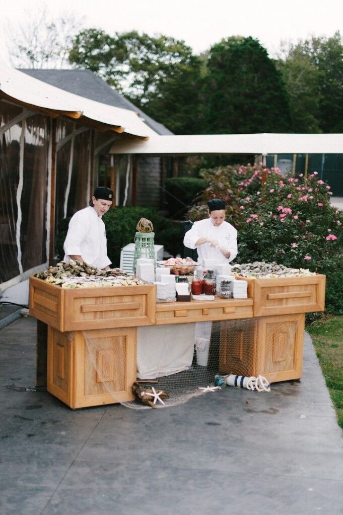 show cooking wedding